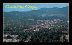 Aerial View of Grants Pass - All American City