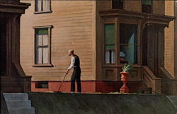 Pennsylvania Coal Town, by Edward Hopper