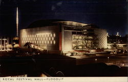 Royal Festival Hall - Floodlit