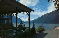 Lake Crescent from Lake Crescent Lodge