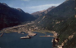 Aerial View of Skagway