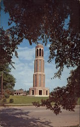 Callie Self Memorial Carillon Postcard