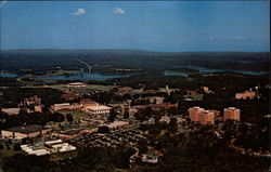 Aerial View of Clemson University Campus