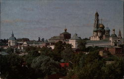 View of Sergius' Trinity Monastery