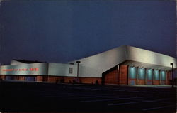 University of Dayton Arena 1969 Postcard
