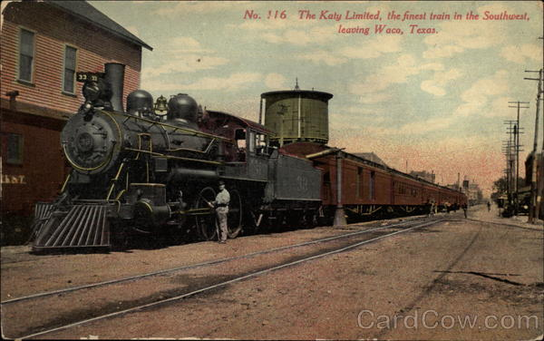 The Katy Limited, the finest train in the Southwest Waco Texas