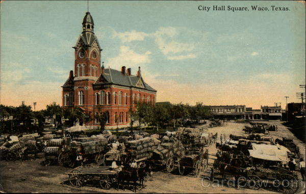 City Hall Square Waco Texas