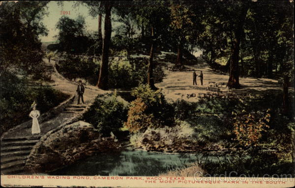 Children's Wading Pond, Cameron Park Waco Texas