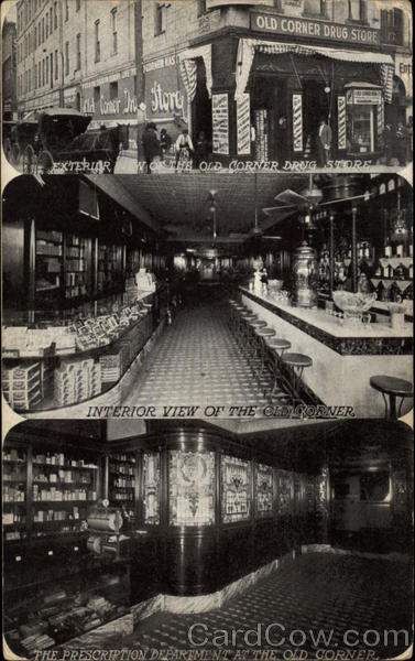 The Old Corner Drug Store Waco Texas