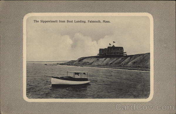 The Sippewissett from Boat Landing Falmouth Massachusetts