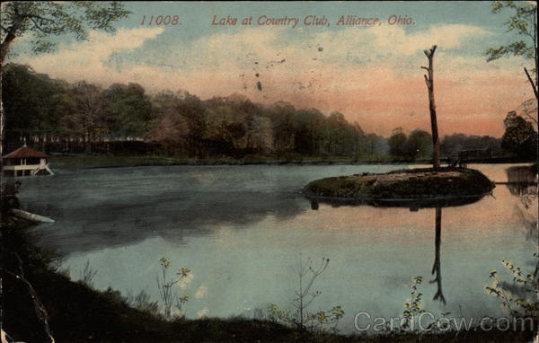Lake at Country Club Alliance Ohio