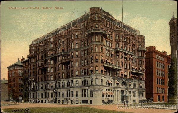 Westminster Hotel Boston Massachusetts