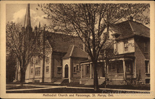Methodist Church and Parsonage St. Marys Canada Ontario