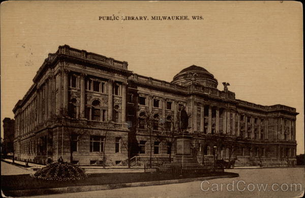 Public Library Milwaukee Wisconsin