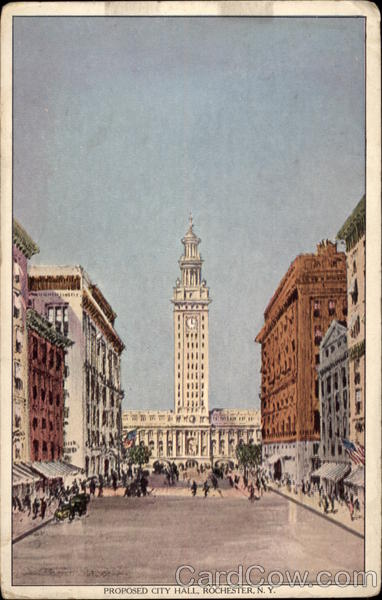 Proposed City Hall Rochester New York