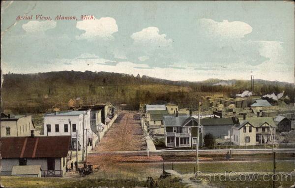 Aerial View Alanson Michigan