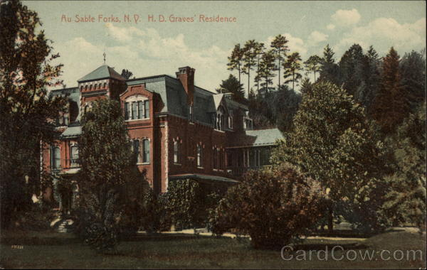 H.D. Graves' Residence Au Sable Forks New York