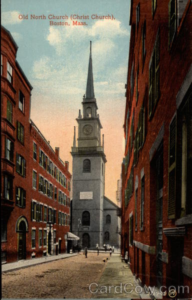 Old North Church(Christ Church) Boston Massachusetts