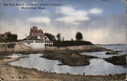 Old Fort Sewall, Children's Island in Distance