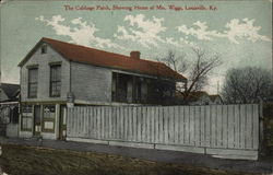 The Cabbage Patch, Showing Home of Mrs. Wiggs