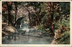 Bridge in Cherokee Park