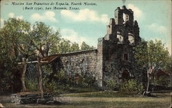 Mission San Francisco de Espada, Fourth Mission, built 1730 Postcard