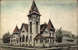 M .E. Church Postcard