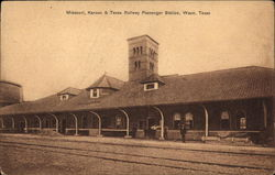 Missouri, Kansas & Texas Railway Passenger Station
