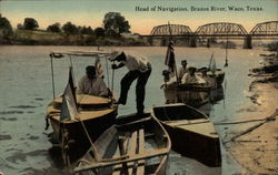 Head of Navigation, Brazos River