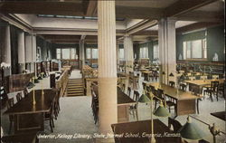 Interior, Kellogg Library, State Normal School