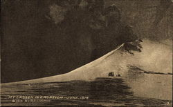 Mt. Lassen in Eruption June 1914