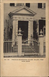 Side Door, Francis Boardman House