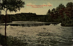 The Falls at Contoocook River Park Postcard