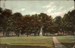Guilford Green and Soldiers Monument