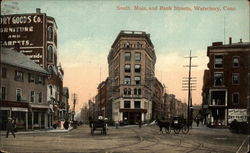 South Main and Bank Streets