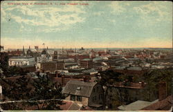 Bird's-eye View of Providence from Prospect Terrace