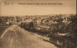 Waymart, Wayne Co., Seen from the Old Gravity Plains
