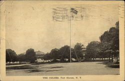 The Colors, Fort Slocum Postcard