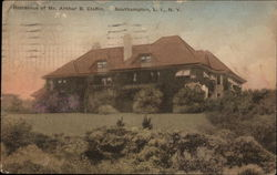 Residence of Mr. Arthur B. Claflin