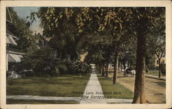 Meadow Lane, Residence Park Postcard