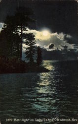 Moonlight on Lake Tahoe