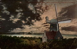 Dutch Windmill by Moonlight, Golden Gate Park