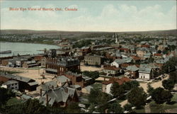 Birds Eye View of Barrie Postcard