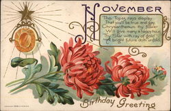 November Birthday Greetings
