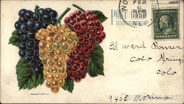 Grapes Advertising Fruit