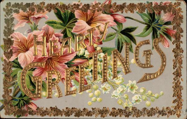 Hearty Greetings