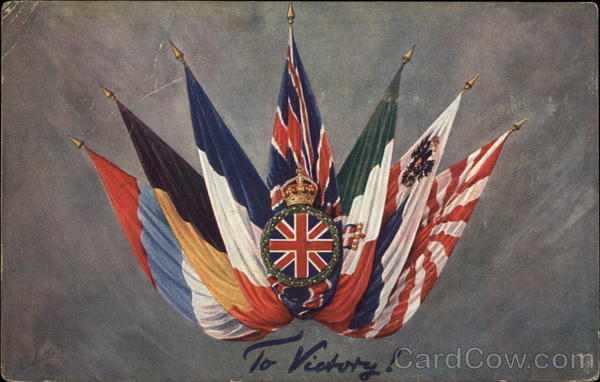 Allied Flags World War I