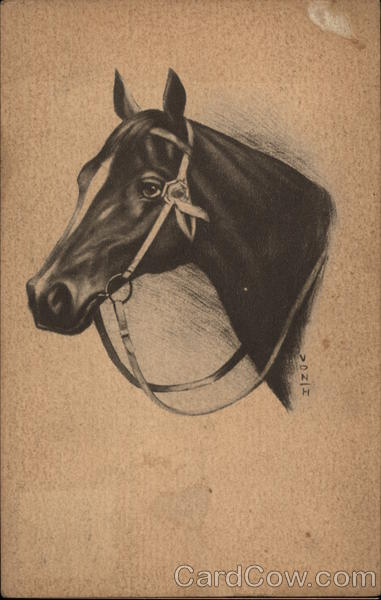 Charcoal Horse Drawing Horses