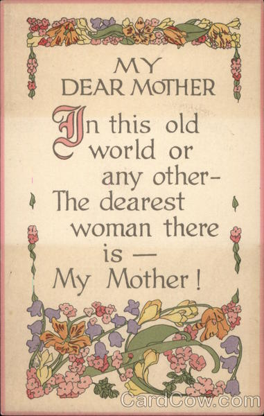 My Dear Mother Greetings