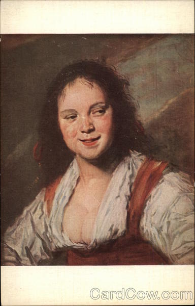 The Gypsy by Frans Hals Art